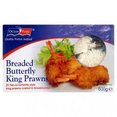 Ocean Classic - Butterfly Breaded King Prawn 500g