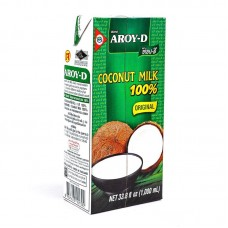 Coconut Milk 12x1000ml - AROY-D