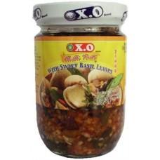 XO- Chilli Paste-Sweet Basil Leaves 200G