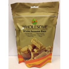 White Sesame Bars 150g- WHOLESOME