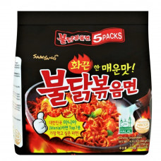 SAM YANG NOODLE (HOT CHICKEN) 5X140G