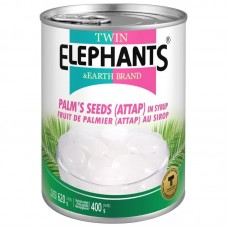 Twin Elephants - Palm Seed Attap In Syrup 620g