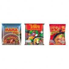 3 FOR £25 MIXED MAMA - MOO NAM TOK + WAI WAI ORIENTAL + TOM SAAB