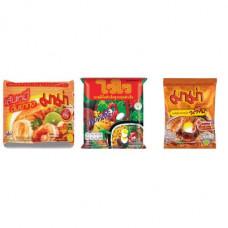 3 FOR £25 MIXED MAMA - Rice Vermicelli Tom Yum Koong + WAI WAI ORIENTAL + SHRIMP CREAMY TOM YUM