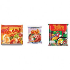 3 FOR £25 MIXED MAMA - Rice Vermicelli Tom Yum Koong + WAI WAI ORIENTAL + SHRIMP TOM YUM