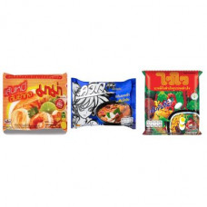 3 FOR £25 MIXED MAMA - Rice Vermicelli Tom Yum Koong + WAI WAI TOMKLONG + WAI WAI ORIENTAL