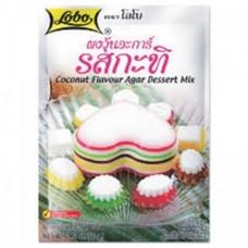LOBO - Coconut Flavour Agar Dessert Mix 60g