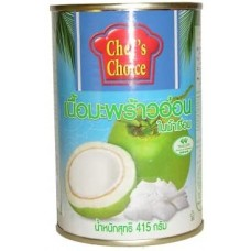 YOUNG COCONUT JUICE WITH MEAT415G-CHEF'S CHOICE