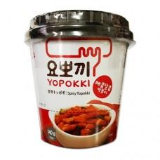 YOUNGPUNG YOPOKKI CUP(SPICY TOPOKKI)140G