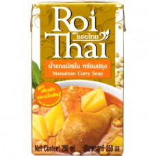 3 FOR £4 ROI THAI MASSAMAN CURRY SOUP 250ML