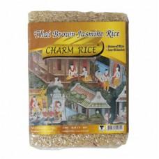 CHARM RICE - THAI BROWN JASMINE RICE 1KG