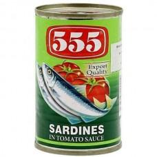 555 - Sardines In Tomato Sauce 155g