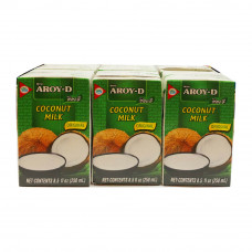 AROY-D - Coconut Milk 6x250ml