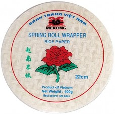 MEKONG SPRING ROLL WRAPPER RICE PAPER 22cm