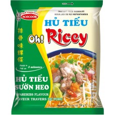 OH RICCY RICE NOODLES SPARERIBS FLAVOUR 70G