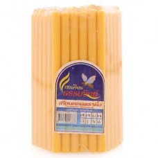Thai Yellow Candles (51pcs)