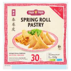Tiger Tiger Spring Roll Pastry 30 Sheets 550g