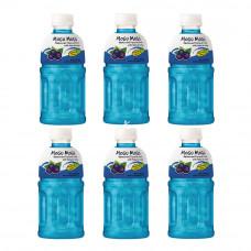 MoGu MoGu - Blackcurrant Flavored Drink with Nata de Coco 6x320ml
