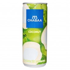 CHABAA - YOUNG COCONUT JUICE DRINK 230ML