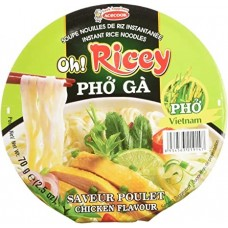 OH RICEY BOWL PHO NOODLES CHICKEN FLAVOUR