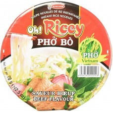 OH RICEY BOWL PHO NOODLES BEEF FLAVOUR