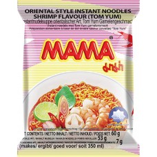 MAMA - Instant Noodles Shrimp Tom Yum 30x55g