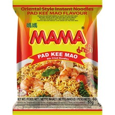MAMA - Instant Noodles Pad Kee Mao Flavour 30x60g