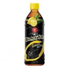 OISHI - Black Tea With Lemon Drink Case 24X500ml