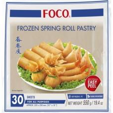 "FOCO - Spring Roll Pastry 10""  550g"