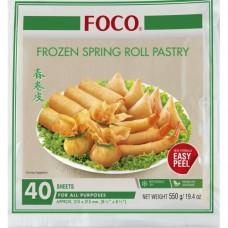 "FOCO - Spring Roll Pastry 8.5"" 550g"