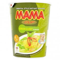 3 For £1.00 - MAMA Cup - Green Curry Instant Noodles (BBF 24.03.21)