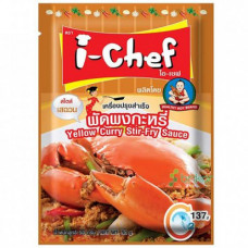 I-CHEF - Yellow Curry Stir Fry Sauce 48x50g