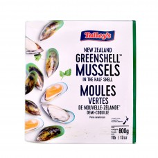 TALLEY'S NEW ZEALAND MUSSELS 800G