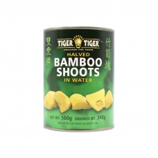 Tiger Tiger - Bamboo Shoots (Halved) In Water 560g