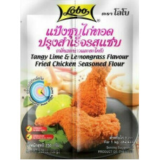 LOBO - Fried Chicken Flour Tangy Lime And Lemongrass Flavoured 150g