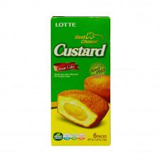 Lotte Custard Cake 6psc (6x23g)