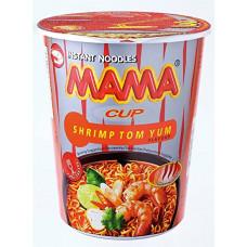 MAMA CUP - Shrimp Tom Yum Noodles 12x70g