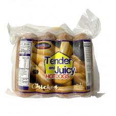 Mandheys - Juicy Chicken Hotdogs 500g