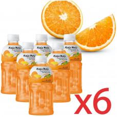 Mogu Mogu - Orange Flavoured Drink 6x320ml