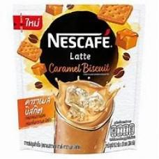 Nescafe Latte Caramel Biscuit 19.2gx20
