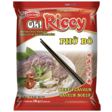 OH RICCY RICE NOODLES BEEF FLAVOUR 70G