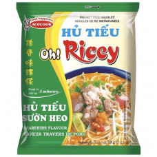 OH RICCY RICE NOODLES SPARERIBS FLAVOUR 24x70G