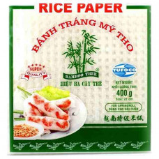 RICE PAPER 22CM SQUARE-BAMBOO TREE 400G