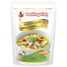 SMILING FISH  GREEN CURRY 250G
