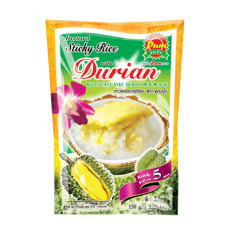MADAM PUM - Instant Sticky Rice With Durian Dessert