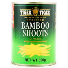Tiger Tiger - Bamboo Shoots (Strips) In Water 560g