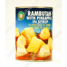 Rambutan With Pineapple in Syrup565G- XO