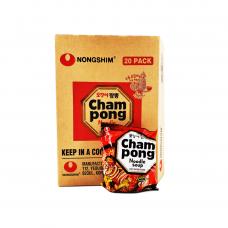 Nongshim - Cham Pong Noodle Soup 20x120g