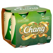 Chang - Beer 4 X 330ml Cans