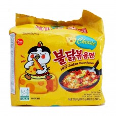 SAMYANG HOT CHICKEN RAMYUN CHEES5X140G